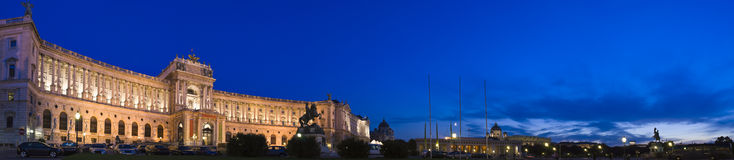 Hofburg地方,维也纳 免版税库存图片