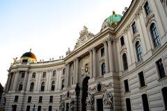 hofburg宫殿维也纳 库存照片