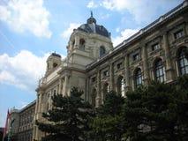 Hofburg宫殿,维也纳,在一个晴朗的春日 库存照片