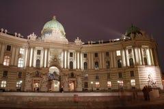 hofburg维也纳 免版税库存图片