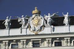Hofburg,维也纳细节  免版税库存照片