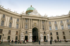 hofburg Βιέννη Στοκ εικόνα με δικαίωμα ελεύθερης χρήσης