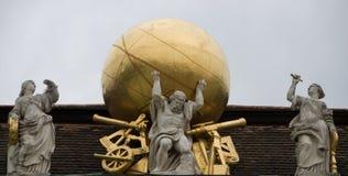hofburg атласа Стоковое Изображение