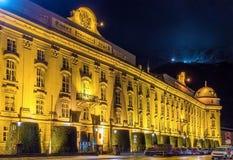 Hofburg (имперский дворец) в Инсбруке стоковое изображение rf