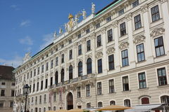 Hofburg 免版税库存照片
