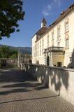 Hofburg, Brixen, Bozen, Italy, Europe. Hofburg historic landmark in Brixen Bressanone, Bozen, Italy, Europe, sunlight and blue sky royalty free stock photo