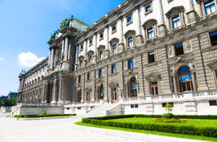 Hofburg building back side view Royalty Free Stock Photography