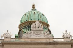 Hofburg Castle. Vienna. Austria. Fragment Stock Images