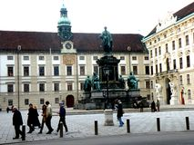 Hofburg in the central area of Vienna Stock Photography