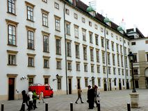 Hofburg in the central area of Vienna Royalty Free Stock Photography