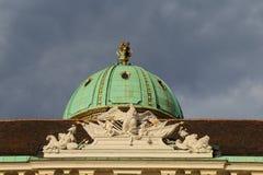 Hofburg details Stock Images