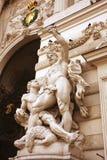 Hofburg - detalle imperial del palacio, Viena, Austria Fotografía de archivo libre de regalías