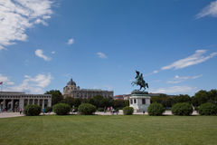 Hofburg Gardens Royalty Free Stock Images