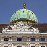 Hofburg Imperial Palace. Detail of Hofburg Imperial Palace in Vienna, Austria Stock Images