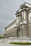 Hofburg Imperial palace. In Vienna, Austria Stock Images