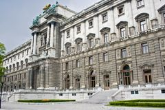 Hofburg Imperial palace. In Vienna, Austria Royalty Free Stock Photos