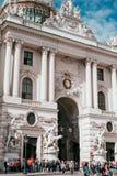 Hofburg imperial palace in Vienna, Austria obraz royalty free