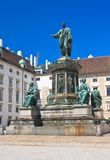 Hofburg Monumento a Franz eu, viena Áustria Fotografia de Stock Royalty Free