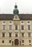 Hofburg pałac podwórze - Wiedeń, Austria fotografia stock