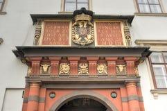Hofburg pałac podwórze - Wiedeń, Austria obrazy royalty free