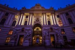 Hofburg pałac Wiedeń Zdjęcie Royalty Free