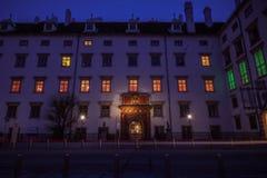 Hofburg pałac Wiedeń Zdjęcia Royalty Free