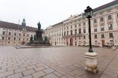 Hofburg pałac, Wiedeń, Austria zdjęcie stock