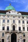 Hofburg pałac, Wiedeń, Europa Fotografia Stock