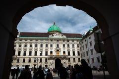 Hofburg Pałac Obrazy Stock