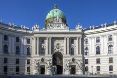 Hofburg pałac Wiedeń, Austria - Obrazy Stock
