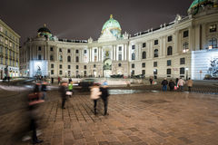 Hofburg Palace in centre of Vienna, Austria. Royalty Free Stock Image