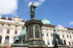 Hofburg Palace courtyard, Vienna, Austria Stock Photos