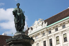 Hofburg Palace courtyard in Vienna, Austria Stock Images