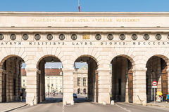 Hofburg Palace Gate In Vienna Stock Photography