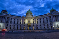 Hofburg Palace seen from Michaelerplatz Royalty Free Stock Image