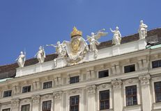 Hofburg Palace, Vienna Royalty Free Stock Photography