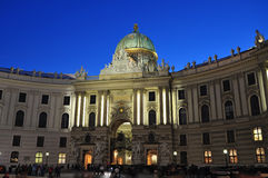 Hofburg palace Vienna architecture Royalty Free Stock Images