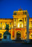 Hofburg Palace in Vienna, Austria Royalty Free Stock Image