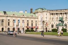 Hofburg Palace In Vienna Stock Image