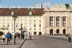 Hofburg Palace In Vienna Royalty Free Stock Photography
