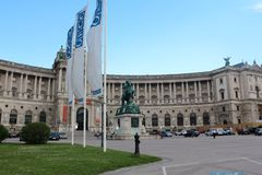 Hofburg Palace, Vienna, Austria Royalty Free Stock Images