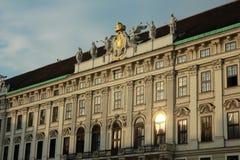 Hofburg Palace, Vienna, Austria. Stock Image