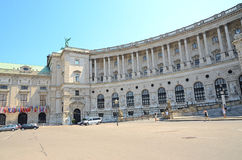 Hofburg palace in Vienna, Austria. Royalty Free Stock Photos