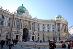 Hofburg Palace, Vienna Royalty Free Stock Image