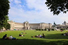 Hofburg Palace in Vienna, Austria Stock Image