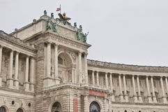 Hofburg palace in Vienna. Royalty Free Stock Photo