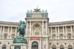 Hofburg palace in Vienna Stock Images