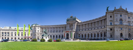 Hofburg Palace Vienna. Hofburg Place (13th Century) on a clear summers day in the city of Vienna Stock Photos