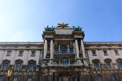 Hofburg palace. Wiener beauty is stunning Royalty Free Stock Images