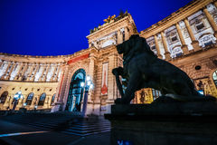 Hofburg-Palast Wien Stockfoto